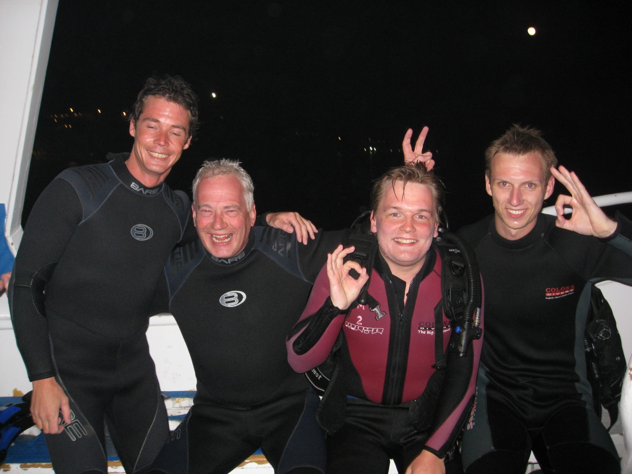 Efter et fantastisk nat dyk i Sharm el Sheik